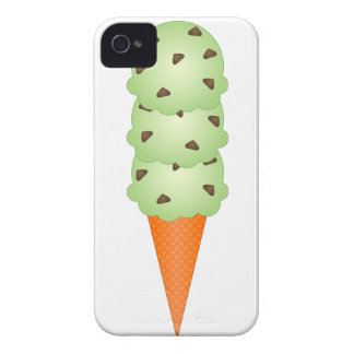 Mint Chocolate Chip iPhone 4 Cases