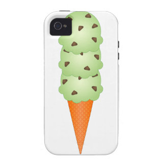 Mint Chocolate Chip iPhone 4 Cover
