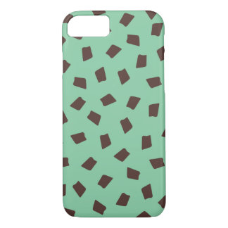 Mint Chocolate Chip iPhone 8/7 Case