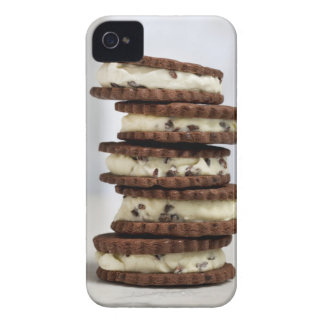 mint cocoa nib ice cream with chocolate cookies iPhone 4 case
