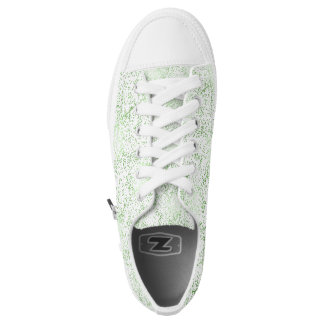 Mint Confetti Dots Low-Top Sneakers