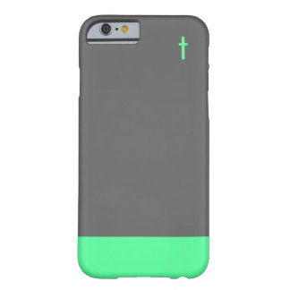 Mint Cross Case Barely There iPhone 6 Case