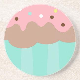 Mint Cupcake Coaster