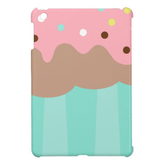 Mint Cupcake iPad Mini Covers