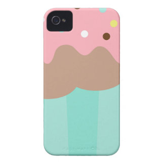 Mint Cupcake iPhone 4 Case-Mate Cases