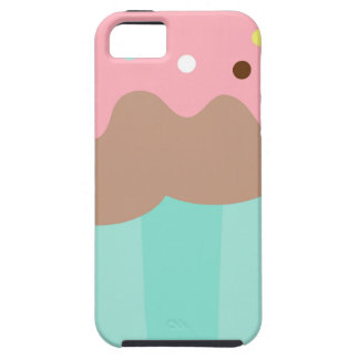 Mint Cupcake iPhone 5 Cover