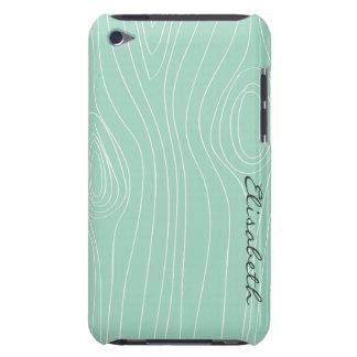 Mint Faux Wood Case-Mate iPod Touch Case