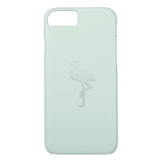 Mint Flamingo Shadow Minty Day Case