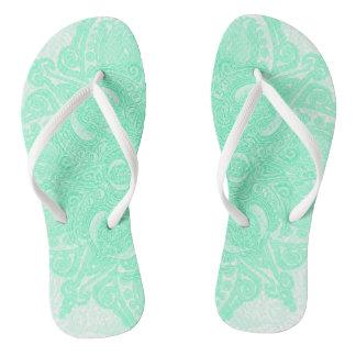 Mint Fleury Flip Flops
