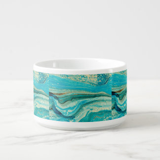 Mint,gold,marble,nature,stone,pattern,modern,chic, Bowl