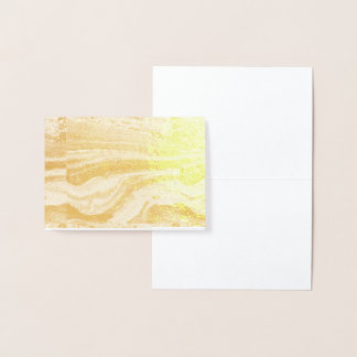 Mint,gold,marble,nature,stone,pattern,modern,chic, Foil Card
