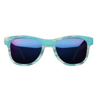 Mint,gold,marble,nature,stone,pattern,modern,chic, Sunglasses