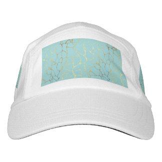 mint,gold,marbled,modern,trendy,chic,beautiful,ele hat