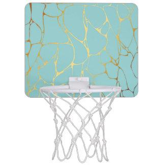 mint,gold,marbled,modern,trendy,chic,beautiful,ele mini basketball hoop
