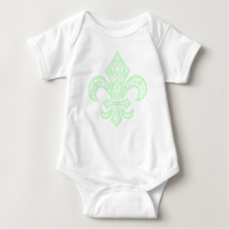 MINT.GREEN BABY BODYSUIT