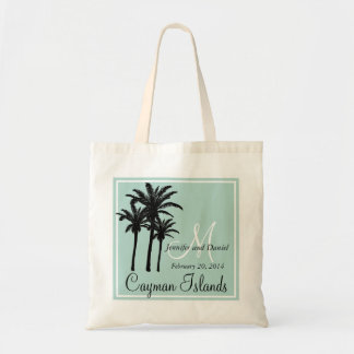 Mint Green Beach Wedding Palm Trees