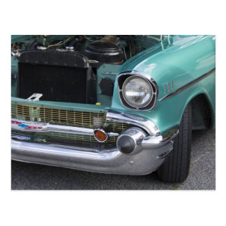 Mint Green Chevy Postcard