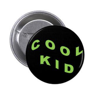 Mint Green Cool Kid 2 Inch Round Button