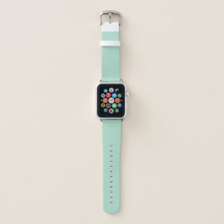 Mint Green Diamond Pattern Apple Watch Band