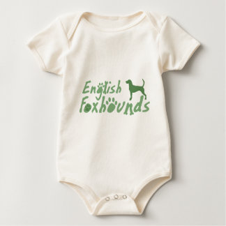 Mint Green English Foxhound Infant Bodysuit