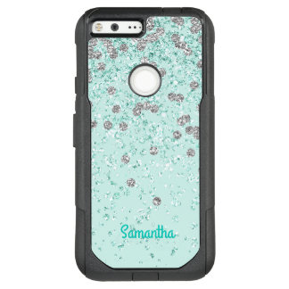 Mint Green Glam OtterBox Google Pixel XL Case