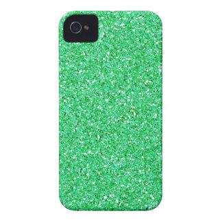 Mint Green Glitter iPhone 4 Covers