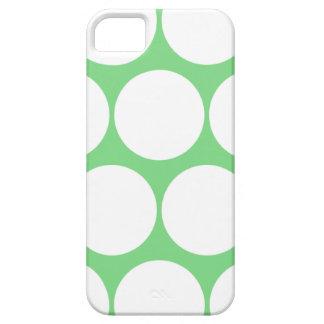 Mint Green Large Polka Dot iPhone 5 Case