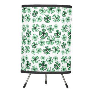Mint-Green Lucky Shamrock Clover Lamp