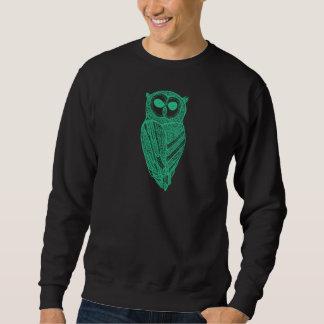 Mint Green Owl The Majestic Owl SweatShirt