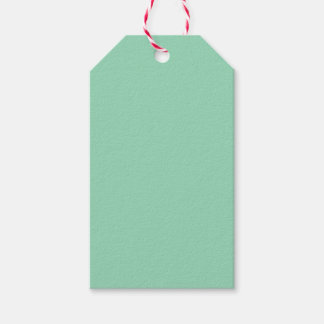 Mint Green Pack Of Gift Tags