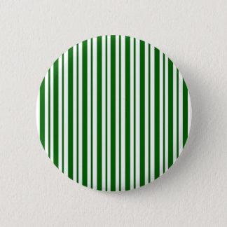 Mint Green Pinstripes 2 Inch Round Button
