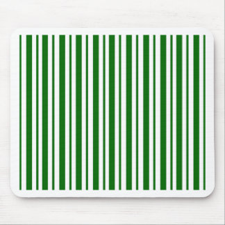Mint Green Pinstripes Mouse Pad