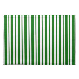 Mint Green Pinstripes Placemat
