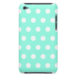 Mint Green Polka Dot iPod Touch Case