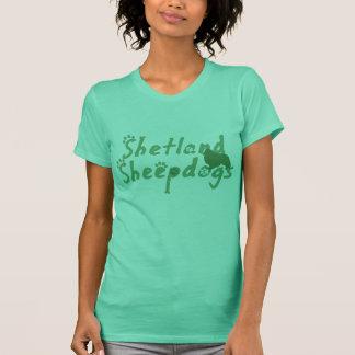 Mint Green Shetland Sheepdog Tank Top