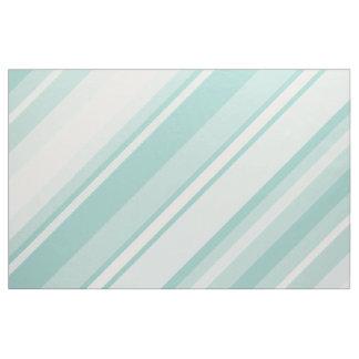 Mint green stripes fabric