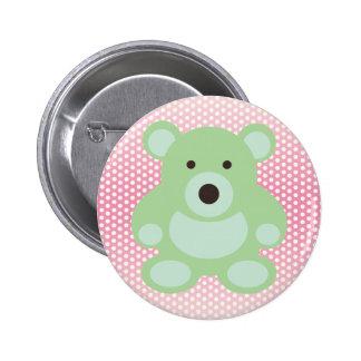 Mint Green Teddy Bear Pin