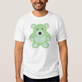 Mint Green Teddy Bear Tshirts