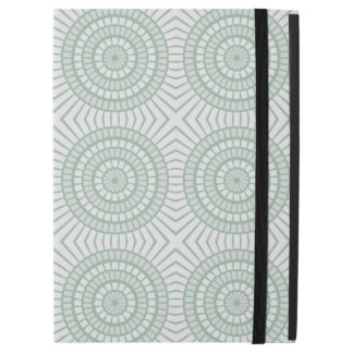 "Mint Green Tiled Circles iPad Pro 12.9"" Case"