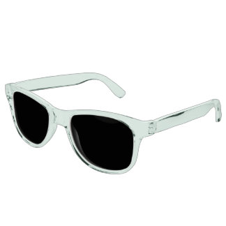 Mint Green Tinted Clear Sunglasses