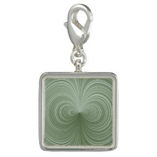 Mint Green Vortex Charm
