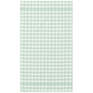 mint green,white,gingham,floral,country chic,girly tablecloth