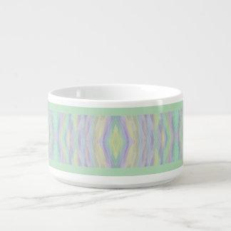 Mint Green Yellow Lavender Bowl