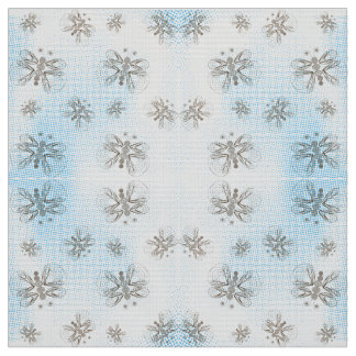 Mint halftones with butterfly pattern fabric
