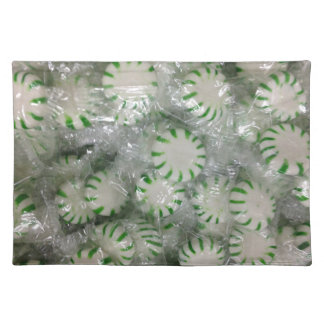 Mint Hard Candy Placemat