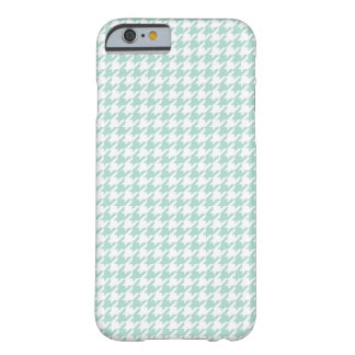 Mint Houndstooth iPhone 6 case