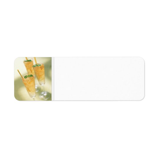 Mint Julep Kentucky Derby Cocktails Address Labels