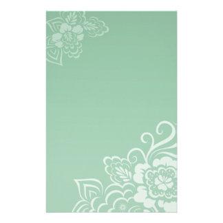Mint Lace - Stationery