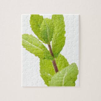 Mint leaves puzzle