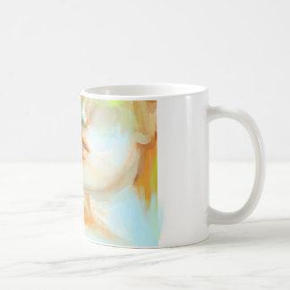 mint lemonade basic white mug